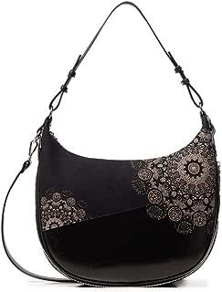 Luxury Fashion   Desigual Womens 19WAXPCZBLACK Black Shoulder Bag   Fall Winter 19