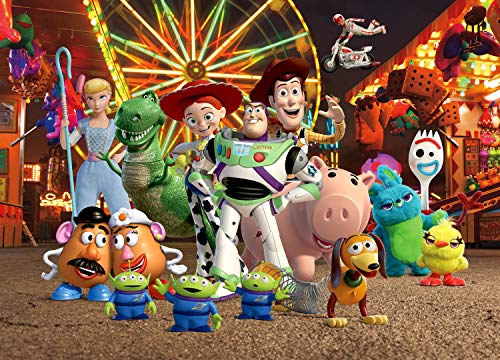 AG Design Toy Story 2 sur Le marché annuel Disney Papier Peint intissé pour Chambre d'enfant 160 x 110 cm FTDN M...
