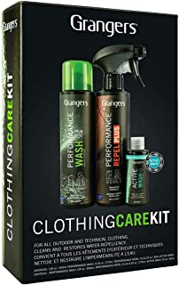 Grangers Outdoor Clothing Care Kit / Complete Cleaning and Waterproofing for Outerwear