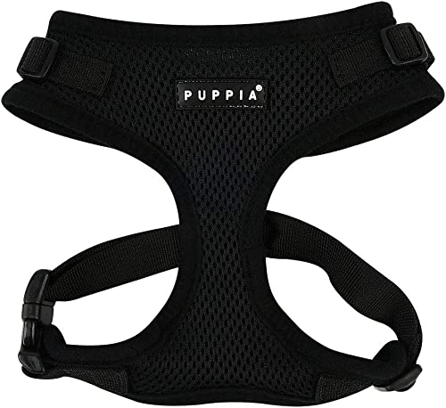 Puppia Ritefit Dog Harness, Black Medium