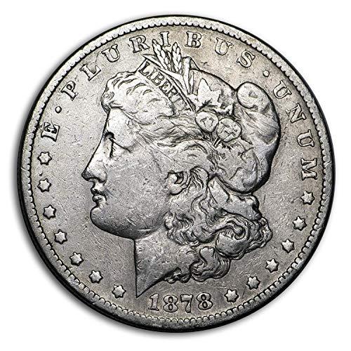 1878 S Morgan Silver Dollar $1 VF