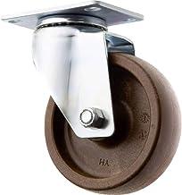TOOLCRAFT TO-5137944 Zwenkwiel polyamide en glasvezels 100mm met schroefplaat