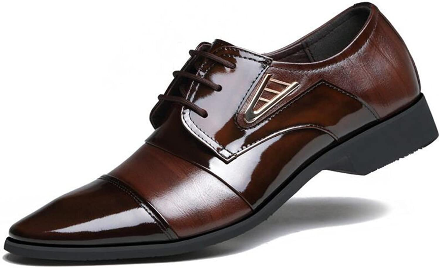 Pointed shoes Men Leather Suits Casual Men's shoes