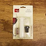 VacuVin Vacuum Wine Saver with White Pump
