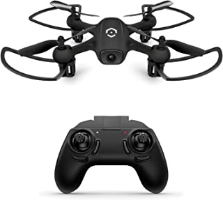 Amcrest Skylight Mini-Drone w/LED Light, Training Drone for Kids & Beginners, RC Helicopter Drone with Remote Control, Hea...