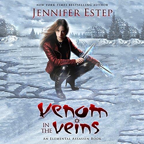 Venom in the Veins audiobook cover art