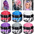 Wax Hair Color Temporary Hair Dye Wax Washable Colored Hair Spray Cream for Women Men Kids Party Cosplay Halloween Festival
