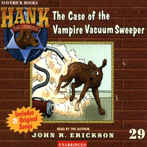 The Case of the Vampire Vacuum Sweeper audiobook cover art