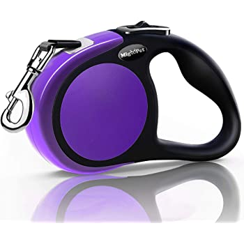 MigooPet Heavy Duty Retractable Dog Leash-16ft Strong & Durable Walking Leash for S to L Dogs up to 45/115 lbs, Upgraded Lock System, Non Slip Grip, Tangle Free