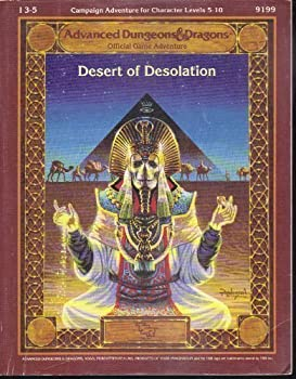 I3-5 Desert of Desolation - Book  of the Advanced Dungeons and Dragons Module #C4
