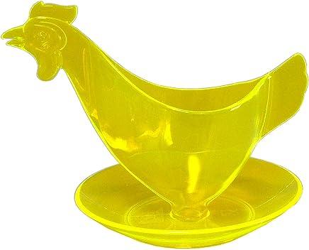 """Preisvergleich für Eierbecher """"Huhn"""" leuchtgelb - Der Kult-Eierbecher - Sonja-PLASTIC - Made in Germany"""