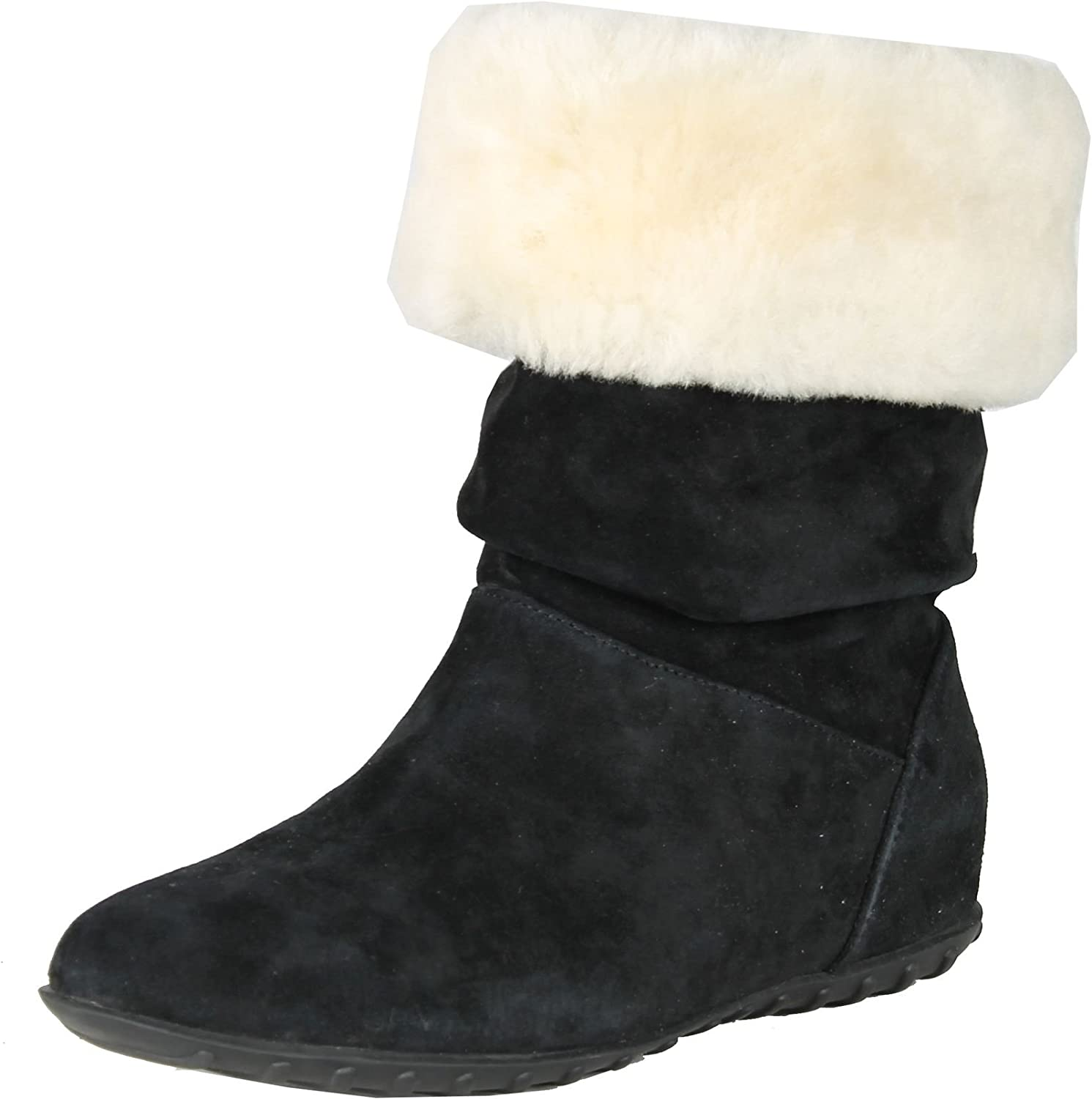 Envy Womens Alpine Fashion Boots with Faux Fur