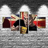 DUYU Buffy Contre Les Vampires 5 pièces Impression sur Toile Wall Art Decor-150x80cm