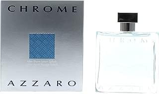 Azzaro Chrome After Shave Lotion Splash, 3.4 Fl Oz
