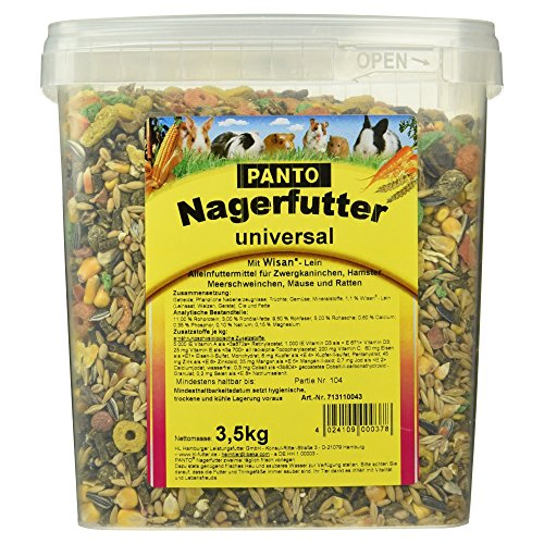 Panto Nagerfutter, Universal 3,5 kg, 1er Pack (1 x 3.5 kg)