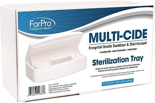 For Pro Sterilization Tray, White