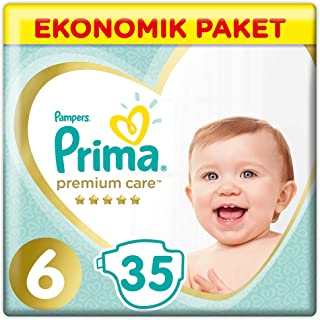 Prima Bebek Bezi Premium Care, 6 Beden, 35 Adet, Ekstra Large Ekonomik Paket
