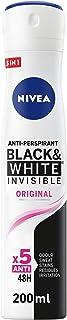 Sponsored Ad – NIVEA Black & White Invisible Original, Antiperspirant for Women, Spray 200ml