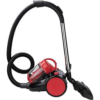 3.0L 900W Aspirador sin Bolsa, aspiradora ciclónica de motor de alta eficiencia , Filtro Hepa H12 Lavable , aspiradora bolsa de limpieza de clase A: Amazon.es: Jardín