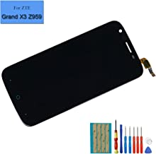 New Replacement LCD Compatible with ZTE Grand X3 Z959 Warp 7 ZTE9519 N9519 5.5