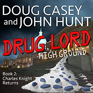 Drug Lord audiobook cover art