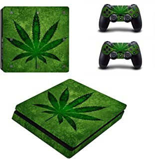 Toys Stylish Plant Stickers Protective Film For PS4 Slim