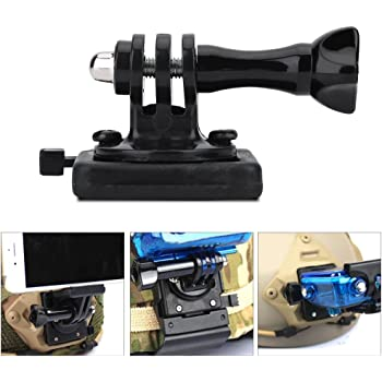 Xiaoyi and Other Action Cameras GoPro New Hero //HERO7 //6//5 //5 Session //4 Session //4//3+ //3//2 //1 Color : Black Black Durable CAOMING Aluminum Alloy Tactical Hand Holder Grip for DJI New Action