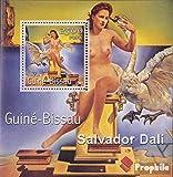 Prophila Collection Guinea-Bissau Block349 2001 Gemälde (Briefmarken für Sammler) Malerei