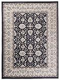 Carpeto Rugs Tappeto 200 x 300 cm Nero Orientale Classico Ornamenti Ayla Collezione
