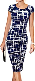 LunaJany Women's Casual Wear to Work Office Career Sheath Dress