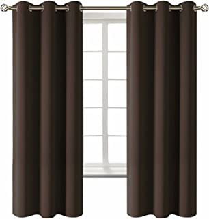 BGment Blackout Curtains for Living Room - Grommet Thermal Insulated Room Darkening Curtains for Bedroom, 2 Panels of 42 x...