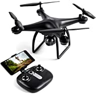 LBLA Drone with Camera,SX16 Wi-Fi FPV Training Quadcopter with 720P HD Camera Equipped with...