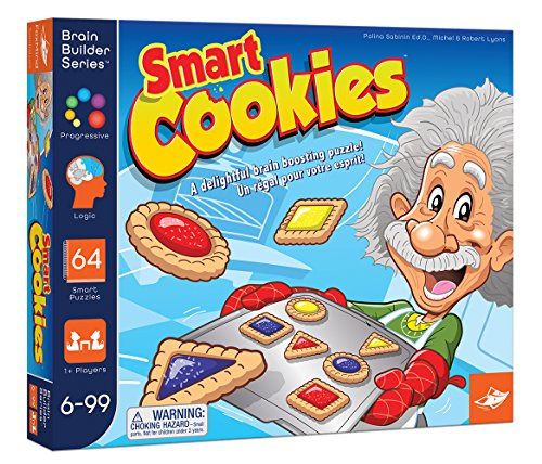 Foxmind, Smart Cookies Puzzle-Solving, Logic Game, Brain Builder Series