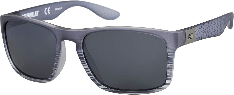 Caterpillar Men's Yarder Polarized Sunglasses Square