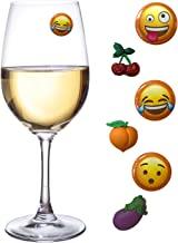 Emoji Wine Charms Addition Eggplant