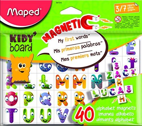 Maped M587310 - magneten Fancy ABC, 40 letters voor Kidy'Board