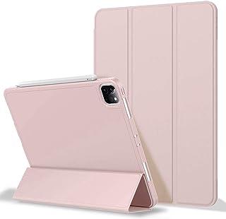 iPad Pro 11 Case 2020&2018, Soft TPU Back and Auto Sleep/Wake Slim Lightweight ipad pro case 11 inch 2020 with Pencil Hold...