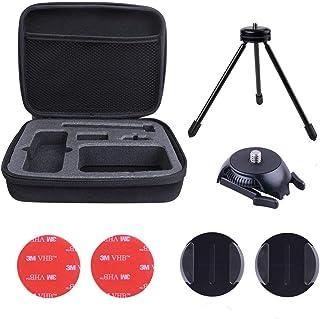 Holaca Funda Protectora Compatible con Insta360 One X Funda de Viaje rígida de EVA Negra con asa de Transporte para cámara Insta360 One X 360 Action