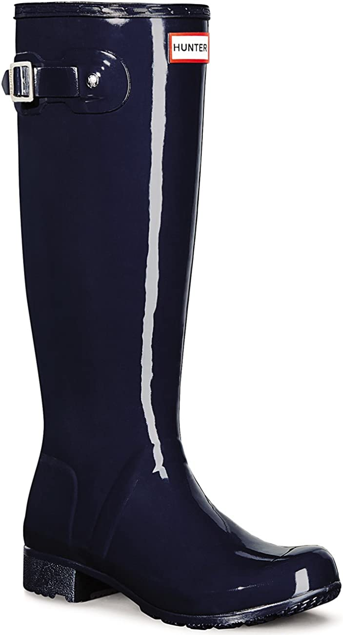 Womens Hunter Original Tour Special sale item New sales Gloss Wellingtons Rainb Snow Wellies