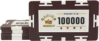ポーカーセット10张一套 12种 Monte Caro 29g 扑克片 赌场芯片 真正的赌场游戏室内游戏 家庭、朋友、派对、旅行等浸渍游戏
