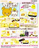 Box Set completo 8 paquetes de la figura en miniatura de Rilakkuma feliz Mercado de Abastos de Re-Ment de Japón