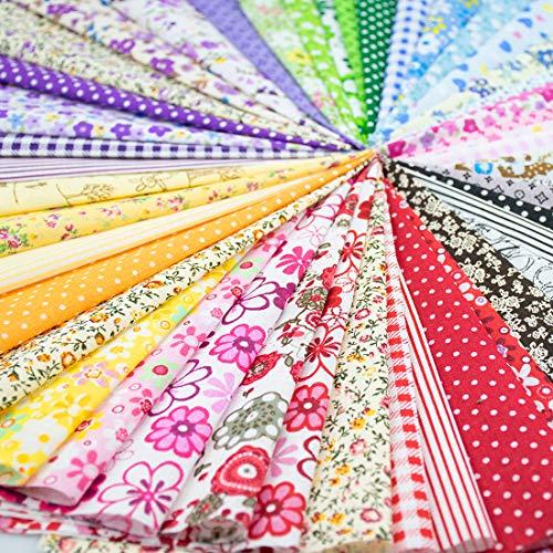 "Cotton Craft Fabric Bundle (9.8"" x 9.8"")"