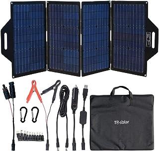 TP-solar 120 Watt Foldable Solar Panel Battery Charger Kit for Portable Generator Power Station Cell Phones Laptop 12V Car...