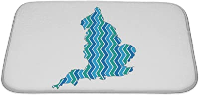 Map Of England Bath.Amazon Com Gear New Bath Mat For Bathroom Memory Foam Non Slip