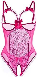 Pongfunsy Women Lingerie Lingerie Bodysuit Plus Size for Women Sexy One-Piece Teddy Lingerie Bodysuit Lace Nightie