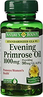 Nature's Bounty Evening Primrose Oil, 90mg, 60 Softgels (Pack of 3)