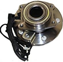 Detroit Axle Front Driver or Passenger Side Complete Wheel Hub and Bearing Assembly for 2008-14 Dodge Mini-Vans
