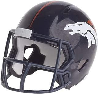 Denver Broncos NFL Riddell Speed Pocket PRO Micro/Pocket-Size/Mini Football Helmet