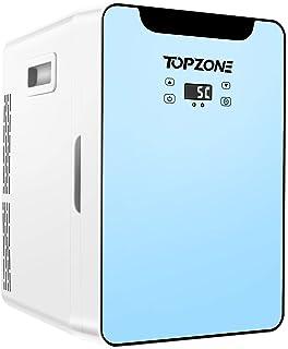 Mini Frigo de Chambre 20L, réfrigérateur compact portable 20L AC & DC Cooler/Warmer for Foods, Skincare, Home, Car, Dorm r...