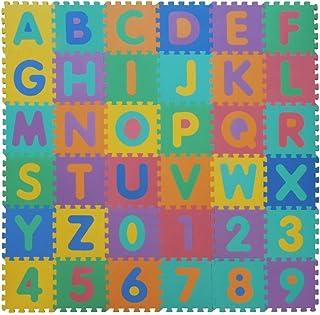 comprar comparacion VeloVendo® Alfombra Puzzle Infantiles con Certificado CE & TÜV | Suelo de Espuma EVA | Tapete de Juego | Alfombra Suave pa...